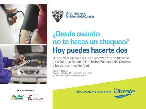 Chequeos médicos y mecánicos gratis en BP por el Día Mundial de la Salud