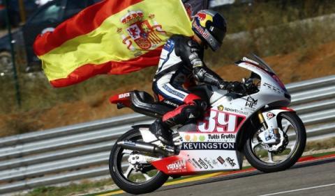 GP de Aragón 2012: Viñales dice adiós al título de Moto3