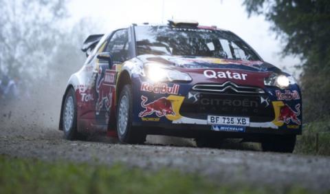 Neuville, primer líder del Rally de Francia 2012