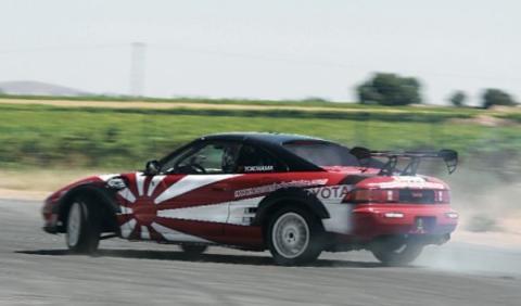 Toyota MR2 Drift Hugo Soto