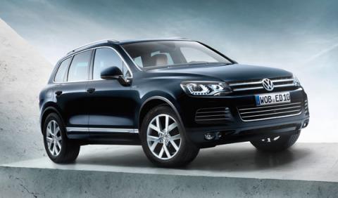 Volkswagen Touareg Edition X: feliz cumpleaños