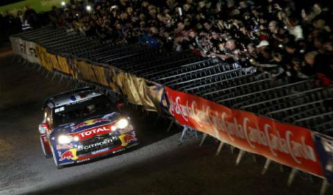 Loeb ya es líder en el Rally de Francia 2012