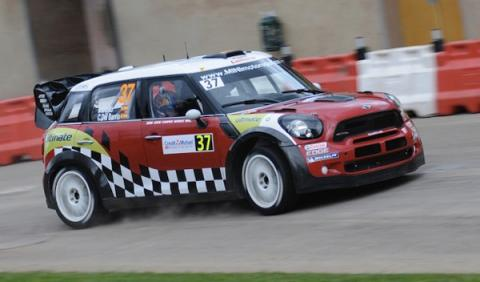 Mini fuera del WRC 2013