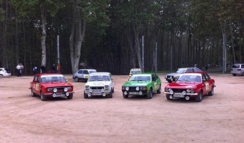 Equipo Seat del Rally Costa Brava 2012