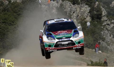 La emoción del WRC llega al Rally de Italia 2012