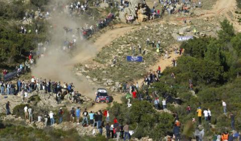 Loeb se queda fuera del Rally de Italia 2012
