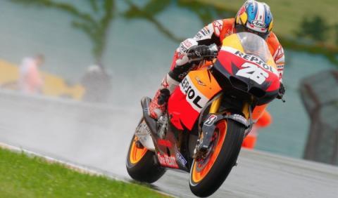 GP de Malasia 2012: Pedrosa, victoria con lluvia