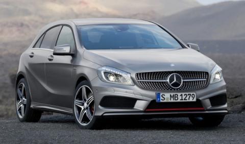Mercedes Clase A prototipo