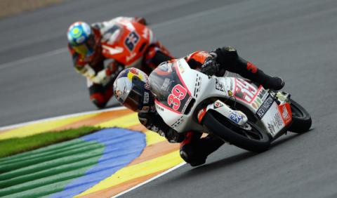 GP de Valencia 2012: Salom, subcampeón de Moto3