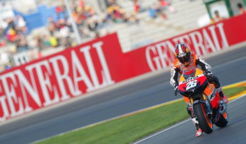 GP de Valencia 2012: Pedrosa, victoria desde el pit lane