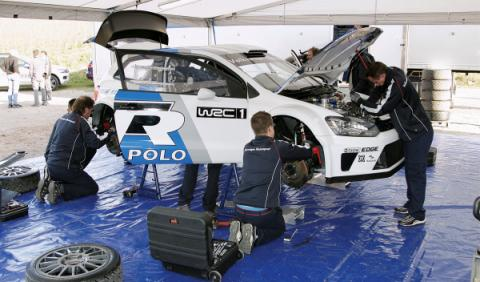 Puesta a punto Polo R WRC