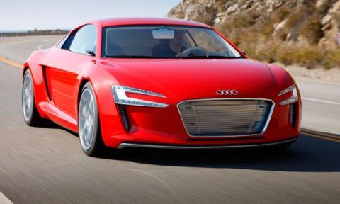 Audi R10 híbrido