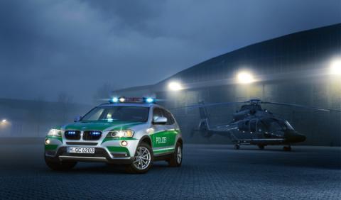 BMW X3 y Serie 3 Touring para la Policía alemana