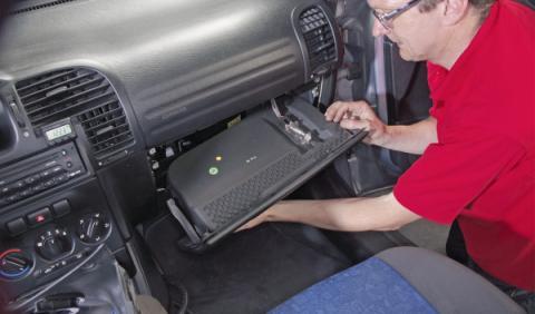 piezas coche cambio filtros