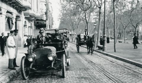 Primeros coches