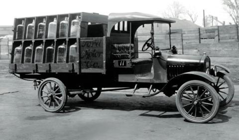 El modelo T para transporte comercial