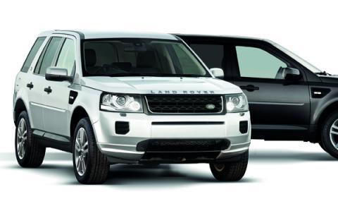 Land Rover Freelander 2 Black&White