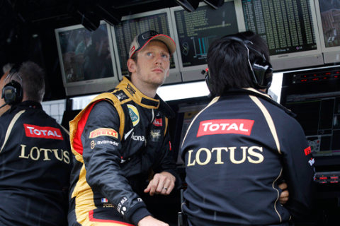 Grosjean, ganador de la Carrera de Campeones 2012