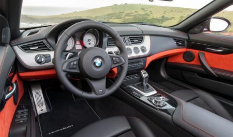 interior BMW Z4