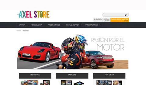 Llega Axel Store: revistas, promociones y mucho más