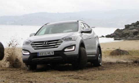 Hyundai Santa Fe 2013 frontal
