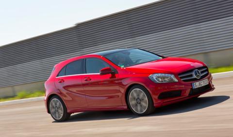 Mercedes Clase A 2012 dinamica