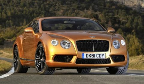 Bentley Continental GT V8 Salón de Detroit