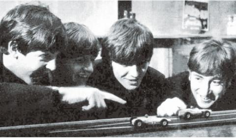 Scalextric Beatles
