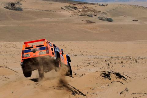 Rally Dakar 2013 Robby Gordon Hummer