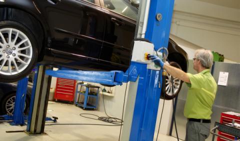 Los talleres mandaron al desguace 8% más de coches en 2012