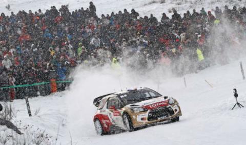 Loeb en carrera