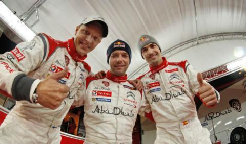 Hirvonen, Loeb y Sordo
