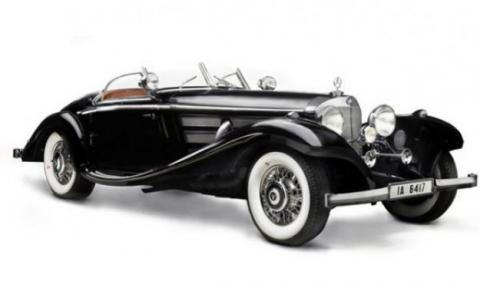 Mercedes Benz 540 K Roadster