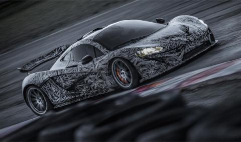 McLaren P1: se desvelan más detalles