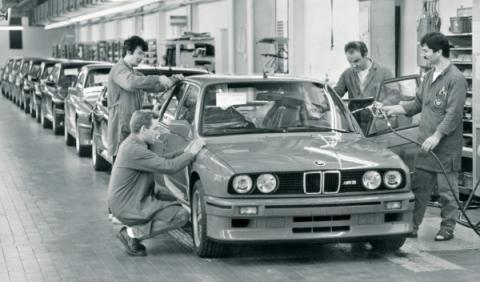 Cadena de montaje del BMW M3