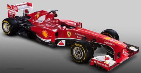 Presentación en directo del Ferrari F138