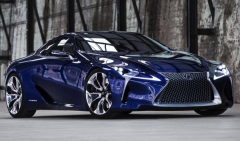 Lexus LF-LC Azul