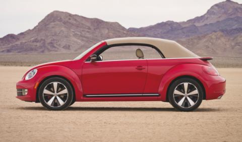 volkswagen beetle cabrio 2013 capota