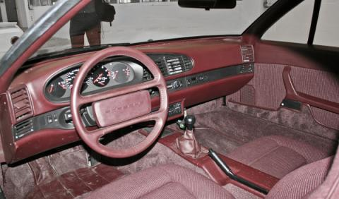Porsche Junior interior