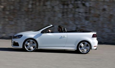 Vw Golf R Cabrio lateral