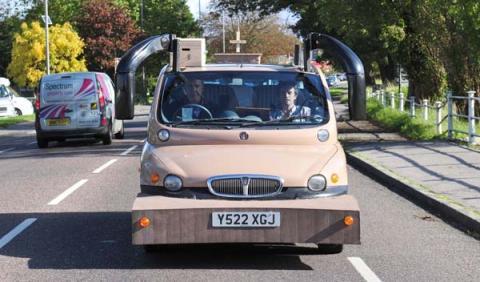 Fiat Multpla Top Gear