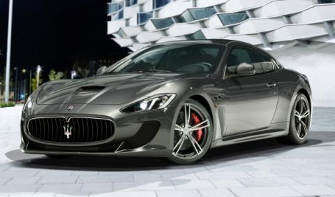 Maserati GranTurismo MC Stradale frontal