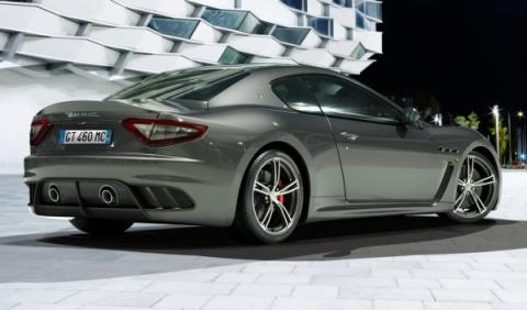 Maserati GranTurismo MC Stradale trasera