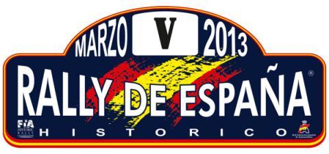 logo rally españa historico