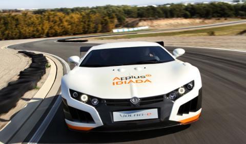 Volar-e, el coche eléctrico más potente del mundo