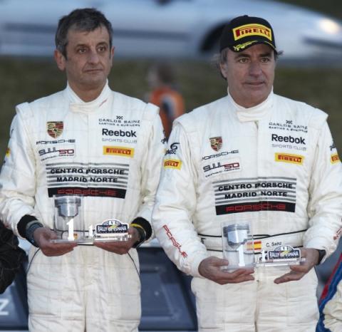Sainz y Moya campeones del Rally de España