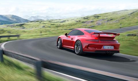 Porsche 911 GT3 2013 trasera