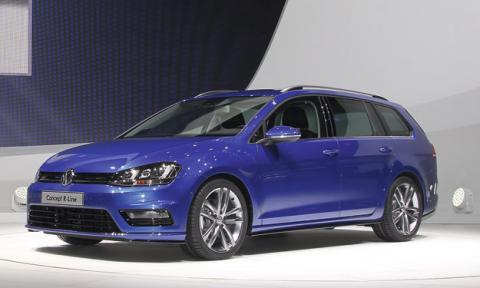 Volkswagen Golf Variant R-Line Concept
