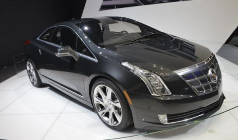 El Cadillac ELR eléctrico, en el Salón de Ginebra 2013