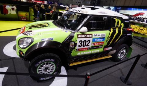 Mini ALL4 Dakar 2013